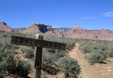 Tonto West trail Stock Photo