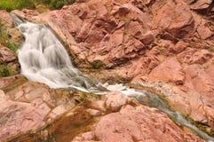 Tontozona vattenfall Royaltyfri Fotografi