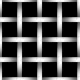 Tonuje głębii drucianej sieci sylwetkę na czarnym tle Obrazy Stock