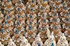 Tonwaren auf einem Markt Stockfoto