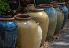 Tonwaren-Vasen Stockbilder