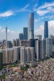 Tonwn Zhujiang новое Стоковая Фотография RF