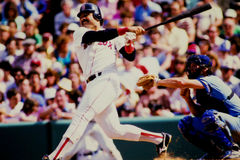 Tony Armas Boston Red Sox Stock Image