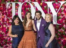 Tony Awards 2018 arkivbild