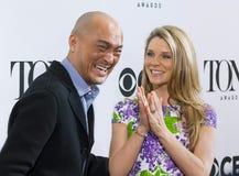 2015 Tony Awards Meet de Kwark van de Benoemdenpers Stock Fotografie