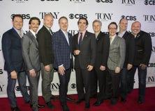 2015 Tony Awards Meet de Kwark van de Benoemdenpers Royalty-vrije Stock Foto's