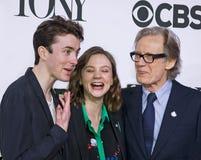 Tony Awards Meet 2015 el dulce de leche cuajada de la prensa de los candidatos Fotografía de archivo libre de regalías