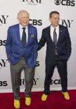 Tony Awards Meet 2015 el dulce de leche cuajada de la prensa de los candidatos Foto de archivo libre de regalías
