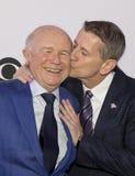 Tony Awards Meet 2015 el dulce de leche cuajada de la prensa de los candidatos Fotografía de archivo