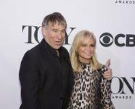 Tony Awards Meet 2015 kandidatpressjunketen Arkivbilder