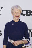 2015 Tony Awards Meet the Nominees Press Junket. Academy Award-winning British actress Helen Mirren arrives on the red carpet for the 2015 Tony Awards Meet the Stock Photography