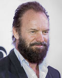 2015 Tony Awards Meet the Nominees Press Junket. Actor/musician/composer Sting arrives on the red carpet for the 2015 Tony Awards Meet the Nominees Press Junket Royalty Free Stock Photos