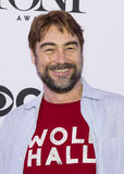 2015 Tony Awards Meet the Nominees Press Junket. Actor Nathaniel Parker arrives on the red carpet for the 2015 Tony Awards Meet the Nominees Press Junket at the Stock Photos