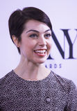 2015 Tony Awards Meet the Nominees Press Junket. Actress Leanne Cope arrives on the red carpet for the 2015 Tony Awards Meet the Nominees Press Junket at the Royalty Free Stock Photo