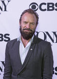 Tony Awards Meet 2015 o representante da imprensa dos candidatos Imagens de Stock Royalty Free