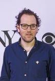 Tony Awards Meet 2015 o representante da imprensa dos candidatos Fotos de Stock Royalty Free