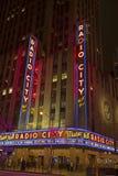 Tony Awards no auditório de rádio da cidade Foto de Stock Royalty Free