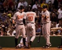 Tony Batista, Baltimore Orioles Fotografia Stock