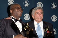 Tony Bennett,BB KING Stock Photos