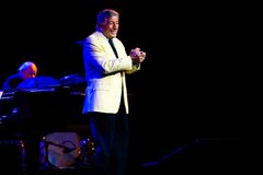 Tony Bennett at Bumbershoot Stock Photo