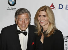 Tony Bennett and Susan Crow Royalty Free Stock Photography