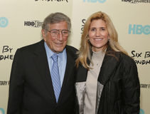 Tony Bennett and Susan Crow Royalty Free Stock Photos