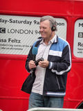 Tony Blackburn At River Thames Festival. Central London - September 13: Tony Blackburn at the River Thames Festival  September 13th, 2009 in Central London Royalty Free Stock Image