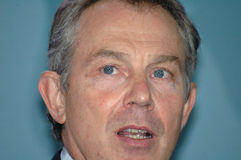 Tony Blair Obraz Stock