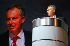 Tony Blair photographie stock