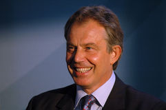 tony blair Royaltyfria Foton
