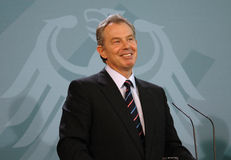 Tony Blair Royalty Free Stock Photography