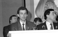 Tony Blair & Gordon Brown Stock Photo