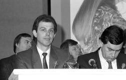 Tony Blair & Gordon Brown Stock Photos