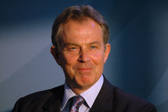 Tony Blair Royalty Free Stock Photo