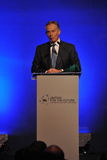 Tony Blair Speaks at Thai Reconciliation Forum. Former British Prime Minister Tony Blair speaks at a reconciliation forum titled Uniting for the Future Learning Royalty Free Stock Photos