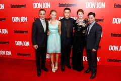 Tony Danza, Scarlett Johansson, Joseph Gordon-Levitt, Julianne Moore, Jeremy Luc Stock Photo