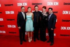 Tony Danza, Scarlett Johansson, Joseph Gordon-Levitt, Julianne Moore, Jeremy Luc Royalty Free Stock Photography