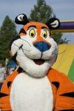 Tony das Tigermaskottchen Stockbild