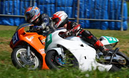 Tony Flinton and James Cowton, Cock o' the North, Oliver's Mount Royalty Free Stock Image