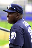 Tony Gwynn of the San Diego Padres. Stock Photography