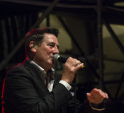 Tony Hadley. The british pop singer Tony Hadley, former leader of the Spandau Ballet Royalty Free Stock Photo