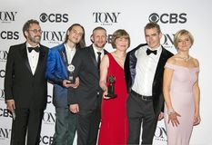 Tony Kushner at 2018 Tony Awards royalty free stock photo