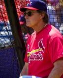 Tony LaRussa, St Louis Cardinals Imágenes de archivo libres de regalías