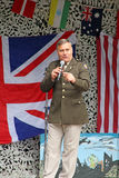 Tony martin frank sinatra tribute. Photo of tony martin tribute to frank sinatra at herne village 1940 event on 12th june 2016 Royalty Free Stock Photos