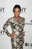 Patina Miller. Tony nominee Patina Miller arrives for the 65th Annual Tony Awards at the Beacon Theatre in New York City on June 12, 2011.  The multi-talented Royalty Free Stock Images