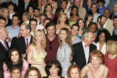 Tony Nominees Group Portrait Royalty Free Stock Images