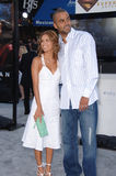 Tony Parker,Eva Longoria Royalty Free Stock Photo
