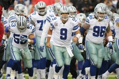Tony Romo Dallas Cowboys stock photography