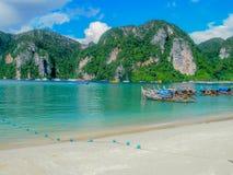 Tony Sai zatoki Phi Phi wyspa Obrazy Royalty Free