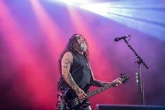 Tony skała, Slayer (dzień 3) Obrazy Royalty Free